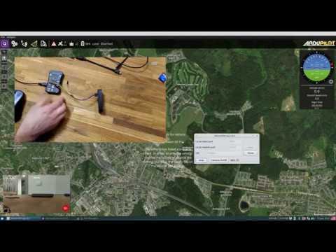 Minla HDW 3G/4G drone FPV + Pixhawk demo - FPVTV