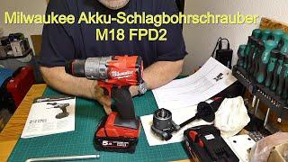 Milwaukee Akku Schlagbohrschrauber M18 FPD2 Fuel brushless