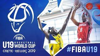 Australia v Canada - Full Game - FIBA U19 Basketball World Cup 2019
