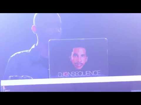 DJ Consequence Teases Kay Jay Ogbonna's 'Weakness' at the 'Major Lazer Live' in Lagos 2018.