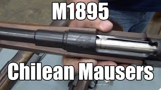 M1895 Chilean Mauser 5 Round Bolt Action 7mm Mauser by DWM - Made In Germany - Various Grades