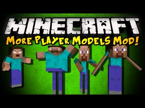 More Player Models Minecraft Mod - Minecraft namen andern 1 12