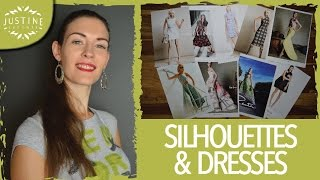 Fashion Design: Dresses & Silhouettes | Justine Leconte