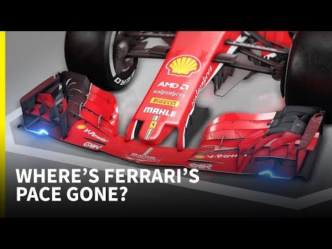 Where's Ferrari's pace gone?