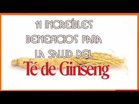 11 Increíbles Beneficios Para La Salud De Té de Ginseng (Te de Ginseng)