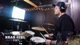 Bear Girl - Blue Ruby Drum Playthrough By Travodrums