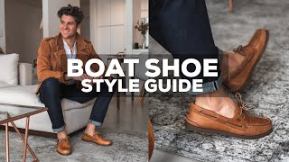 6 NEW WAYS To Style Sperry Boat Shoes | Break The Norm