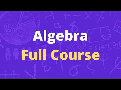 Algebra for Beginners | Algebra Full Course