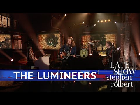 The Lumineers Perform 'Gloria' - The Late Show With Stephen Colbert