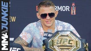 UFC 236: Dustin Poirier post fight interview