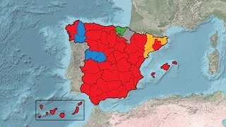 Spanish General Election Results (1977-2019)