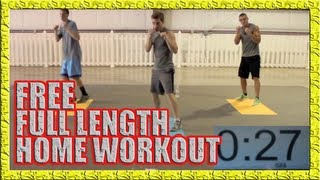 FREE Home Workout Part 1 - NO WEIGHTS, NO PROBLEM! by fightTIPS