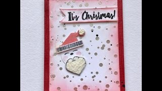 Christmas Cards with Nuvo Embellishment Mousse