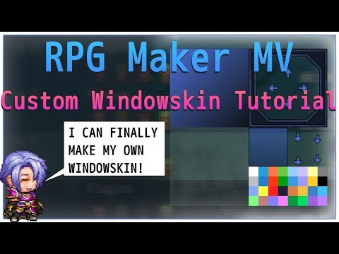 Download Rpg Maker Mv How To Make A Custom Windowskin Video 3GP Mp4