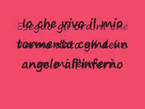 , title : 'Dall'inferno-Marco Mengoni con testo'