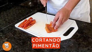 #12 - Cortando Pimentão
