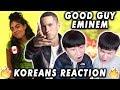 [ENG SUB]🔥🔥 KOREAN BOYS React To EMINEM - GOOD GUY ft. JESSIE REYEZ