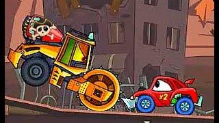 развивающие мультики для детей  мультик игра машина ест машину серия 5 - мультфильм про машинку