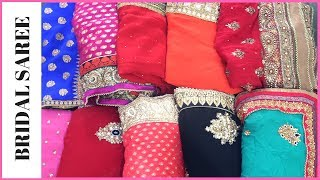 Must Have Heavy 11Saree Collection | Bridal Saree || Indian Vlogger