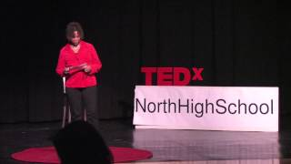 UPCS Guidance Counselor Seeing Silver In The Soup | Lynnel Reed | TEDxNorthHighSchool
