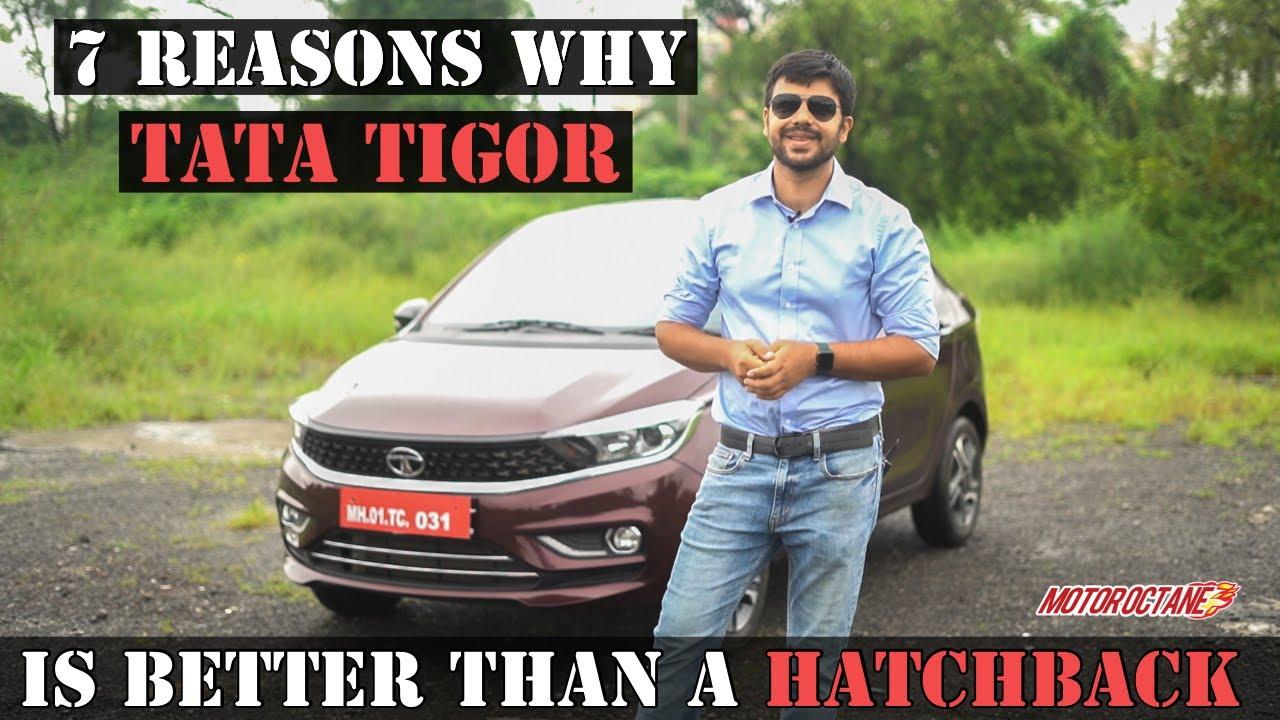 Motoroctane Youtube Video - 2020 Tata Tigor BS6 - 7 Reasons To Consider over a Hatchback