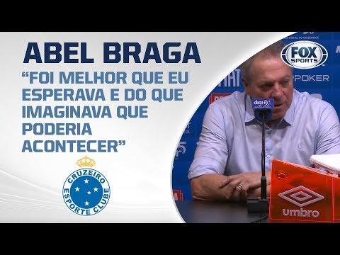 EMPATE NO MINEIRÃO! Abel Braga fala após Cruzeiro 1x1 Internacional pelo Campeonato Brasileiro