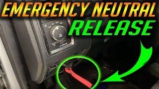 Emergency Transmission Release 2013 - 2018 RAM 1500
