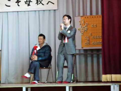 将棋棋士渡辺明竜王の講演終了後の質疑応答