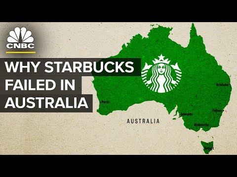 Proč Starbucks neuspěl v Austrálii?