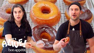 Brad and Claire Make Doughnuts Part 3: Redemption | It's Alive | Bon Appétit