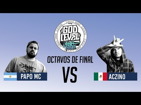 PAPO VS ACZINO / OCTAVOS / GOD LEVEL ARGENTINA