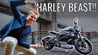 MEGA HARLEY DAVIDSON IN NYC!! (First Ride) | NICO ROSBERG | eVLOG