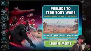 SWGoH - Dark Side Territory Battles - BF2 - Shadow Of War Mobile #AD -