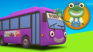Bobby the Bus visits Gecko's Garage | Bus Video For Kids