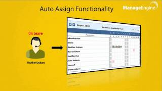 Help Desk Tickets - Auto Assign to Reduce Technicians' Load