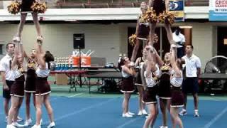EP JV Cheerleaders Floor Cheer