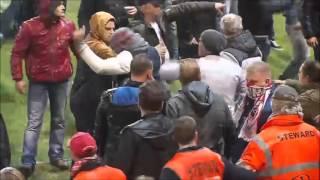 Riots: Royal Antwerp - Eupen 30.04.2016