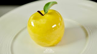 Download Youtube: Golden Delicious Apple Shaped Dessert – Bruno Albouze – THE REAL DEAL