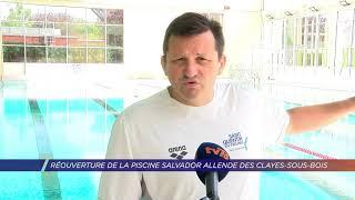 Réouverture de la piscine Salvador-Allende des Clayes-sous-Bois