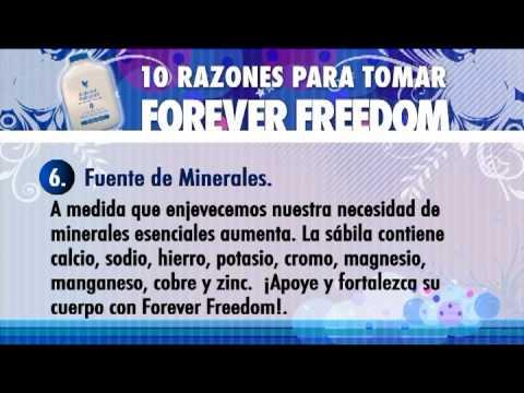 10 razones para tomar Forever Freedom