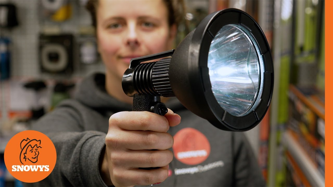 10W Rechargeable Hand-Held Hunting Spotlight