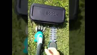 Аккумуляторные ножницы BOSCH видео