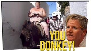 Greece Has to Breed Stronger Donkeys Because FAT PEOPLE?! ft. Steve Greene