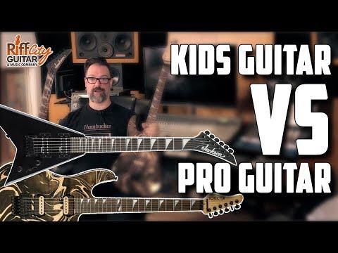 Kids Guitar Vs Pro Guitar - The Affordable Guitar Studio Challenge