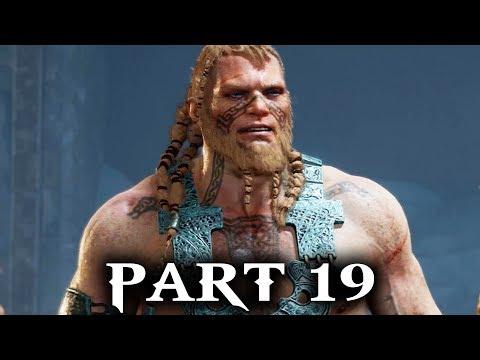 God of War Gameplay Walkthrough Part 19 - MAGNI & MODI (PS4 2018)