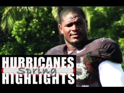 Miami Hurricanes spring football highlights: 3-26-14