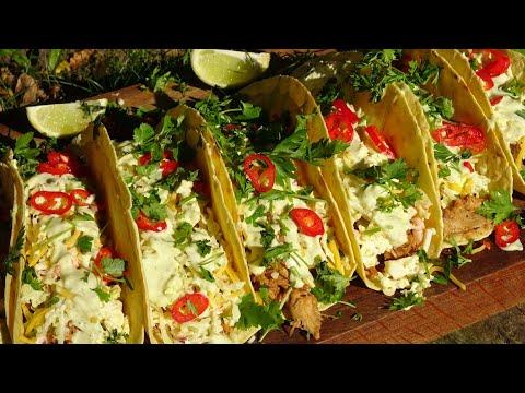 Tacos z Szarpanym Kurczakiem  -KuchniaKwasiora