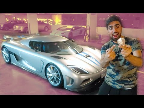 My First Ride in a **KOENIGSEGG AGERA** !!!