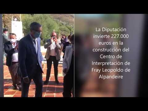 La Diputación invierte 227.000 euros en la construcción del Centro de Interpretación de Fray Leopoldo de Alpandeire