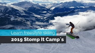 LEARN FREESTYLE SKIING AT STOMP IT CAMPS